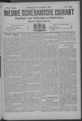 Nieuwe Schiedamsche Courant 1897-11-13