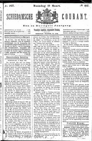 Schiedamsche Courant 1877-03-19