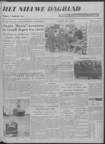 Nieuwe Schiedamsche Courant 1961-02-03