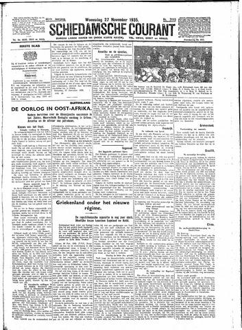 Schiedamsche Courant 1935-11-27