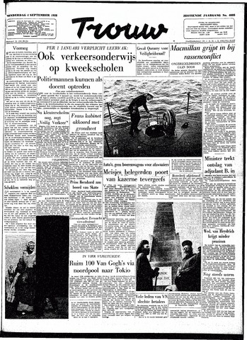 Trouw / De Rotterdammer 1958-09-04