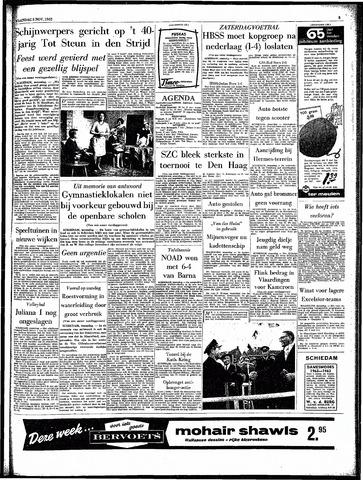 Rotterdamsch Parool / De Schiedammer 1962-11-05