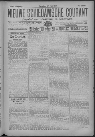 Nieuwe Schiedamsche Courant 1918-07-27