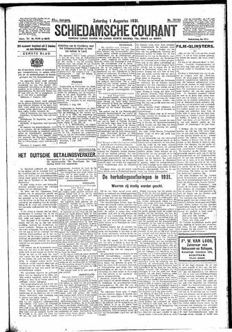 Schiedamsche Courant 1931-08-01