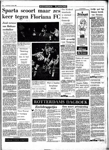 Rotterdamsch Parool / De Schiedammer 1966-10-06