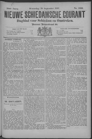 Nieuwe Schiedamsche Courant 1897-09-29
