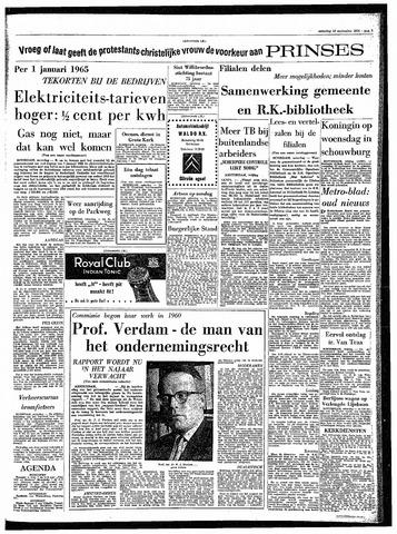 Rotterdamsch Parool / De Schiedammer 1964-09-19