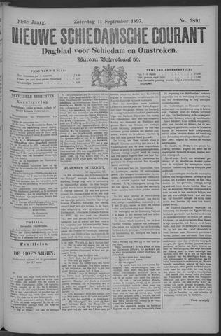 Nieuwe Schiedamsche Courant 1897-09-11