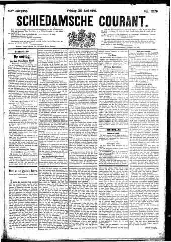 Schiedamsche Courant 1916-06-30