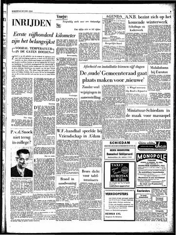 Rotterdamsch Parool / De Schiedammer 1962-08-29