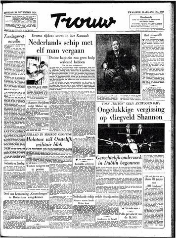 Trouw / De Rotterdammer 1954-11-30