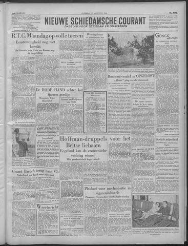 Nieuwe Schiedamsche Courant 1949-08-27