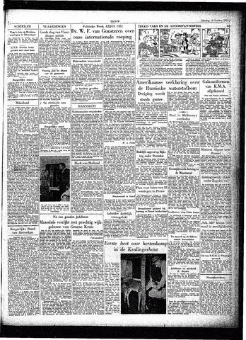 Trouw / De Rotterdammer 1953-10-13