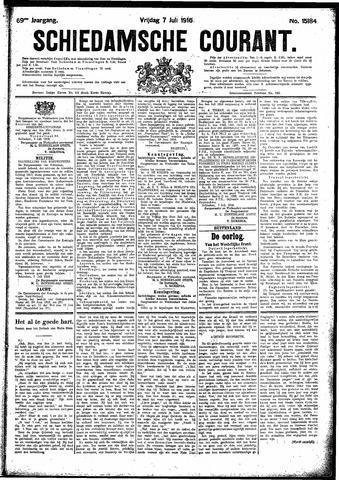 Schiedamsche Courant 1916-07-07