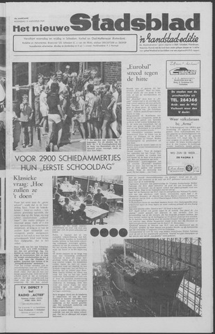Het Nieuwe Stadsblad 1969-08-13