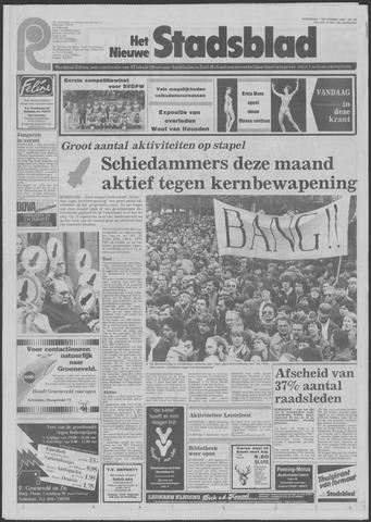Het Nieuwe Stadsblad 1982-09-01