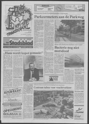 Het Nieuwe Stadsblad 1991-08-09