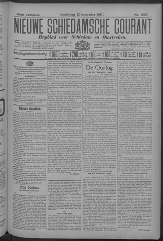 Nieuwe Schiedamsche Courant 1917-09-13