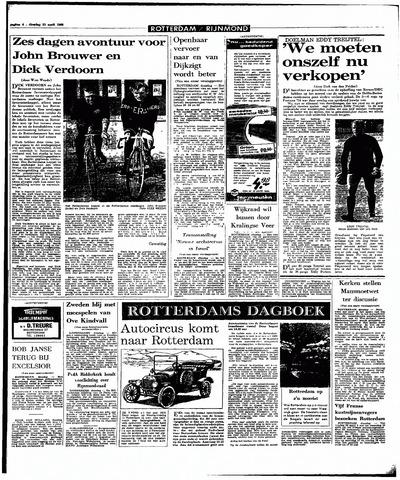 Rotterdamsch Parool / De Schiedammer 1968-04-23