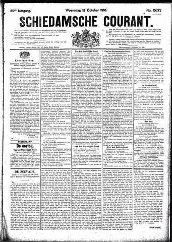 Schiedamsche Courant 1916-10-18