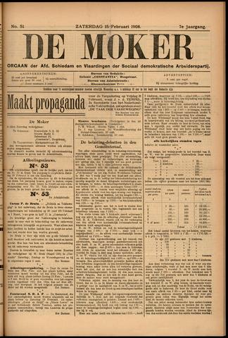 De Moker 1908-02-15
