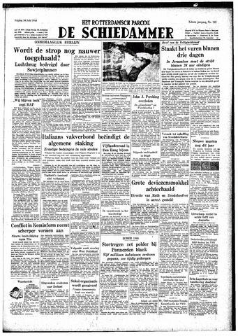 Rotterdamsch Parool / De Schiedammer 1948-07-16
