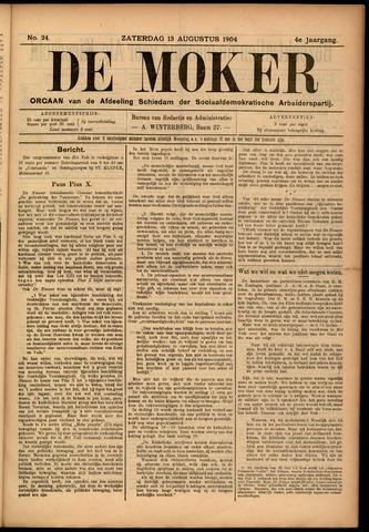 De Moker 1904-08-13