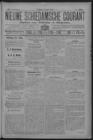 Nieuwe Schiedamsche Courant 1913-06-06