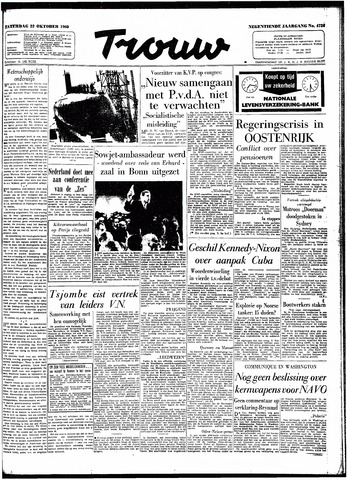 Trouw / De Rotterdammer 1960-10-22
