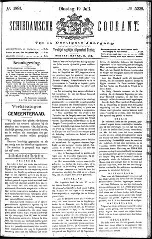 Schiedamsche Courant 1881-07-19