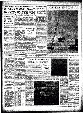Rotterdamsch Parool / De Schiedammer 1965