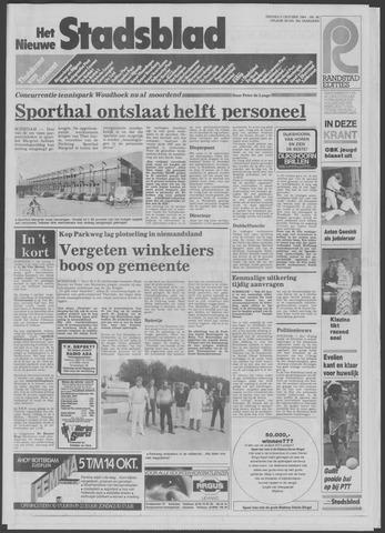 Het Nieuwe Stadsblad 1984-10-05