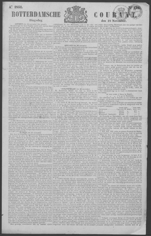 Rotterdamse Courant 1851-11-18