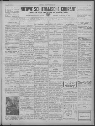 Nieuwe Schiedamsche Courant 1933-09-19