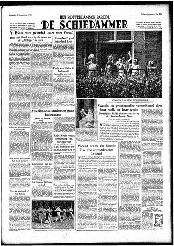 Rotterdamsch Parool / De Schiedammer 1948-09-01