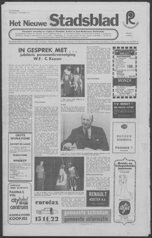Het Nieuwe Stadsblad 1971-11-03