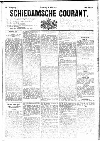 Schiedamsche Courant 1912-05-07