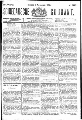 Schiedamsche Courant 1898-11-08