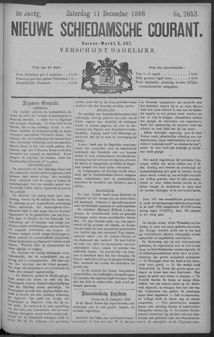Nieuwe Schiedamsche Courant 1886-12-11