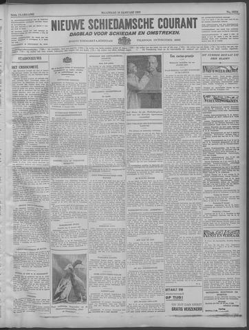 Nieuwe Schiedamsche Courant 1932-01-18