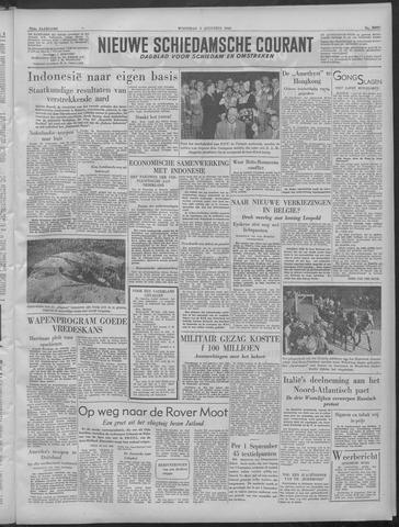 Nieuwe Schiedamsche Courant 1949-08-03