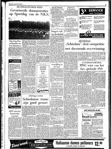 Rotterdamsch Parool / De Schiedammer 1961-09-04