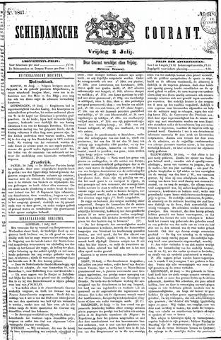 Schiedamsche Courant 1847-07-02