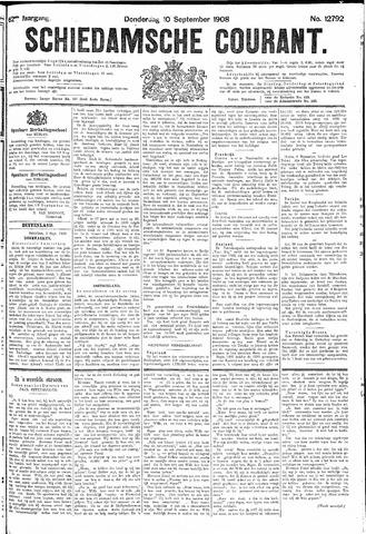 Schiedamsche Courant 1908-09-10