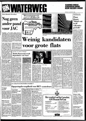 Rotterdamsch Nieuwsblad / Schiedamsche Courant / Rotterdams Dagblad / Waterweg / Algemeen Dagblad 1983-08-30