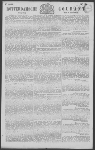 Rotterdamse Courant 1851-12-09