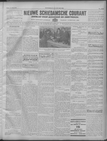 Nieuwe Schiedamsche Courant 1932-01-28