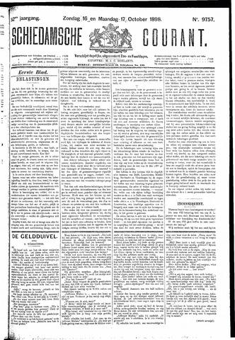 Schiedamsche Courant 1898-10-17