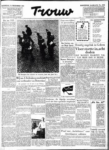 Trouw / De Rotterdammer 1955-12-31