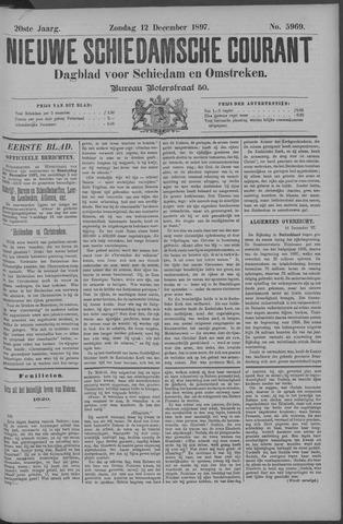 Nieuwe Schiedamsche Courant 1897-12-12